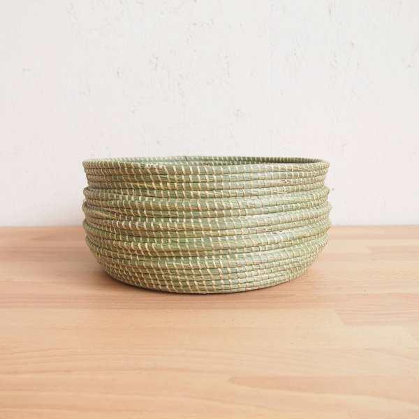 Amsha - Wave Sweetgrass Bowl
