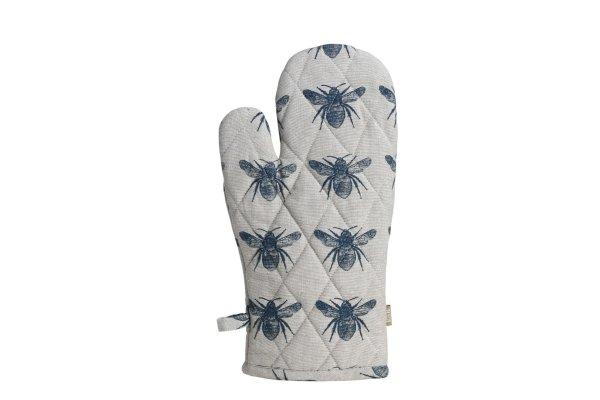 Raine & Humble - Prussian Blue Honey Bee Oven Glove
