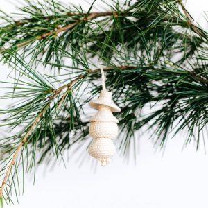 Amsha - Mini Woven Ornament