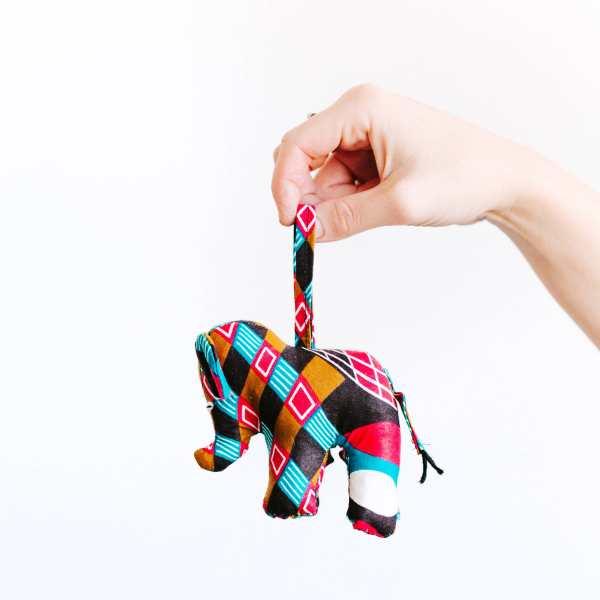 Amsha - Safari Ornaments: elephant
