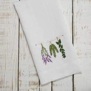 Crown Linen Designs - Herbs Linen Towel
