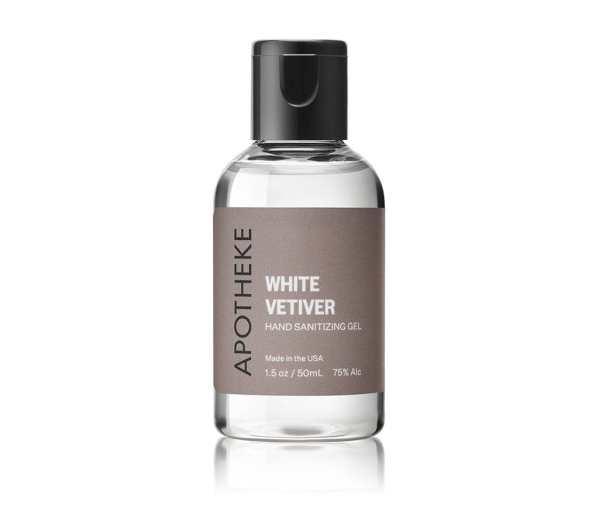 Apotheke - White Vetiver Hand Sanitizer- 1.5oz