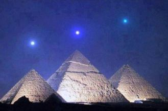 Egyptian Pyramids aligned with Orion Belt stars