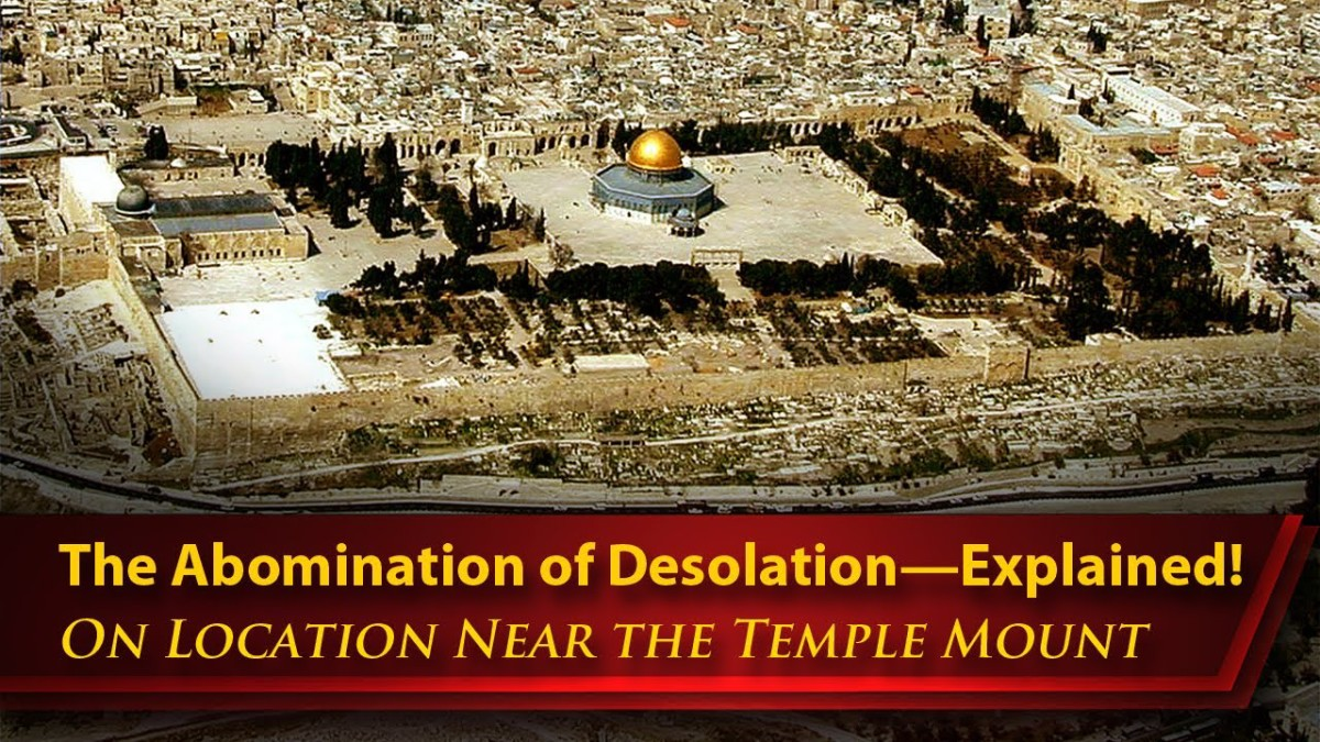 Image result for abomination of desolation