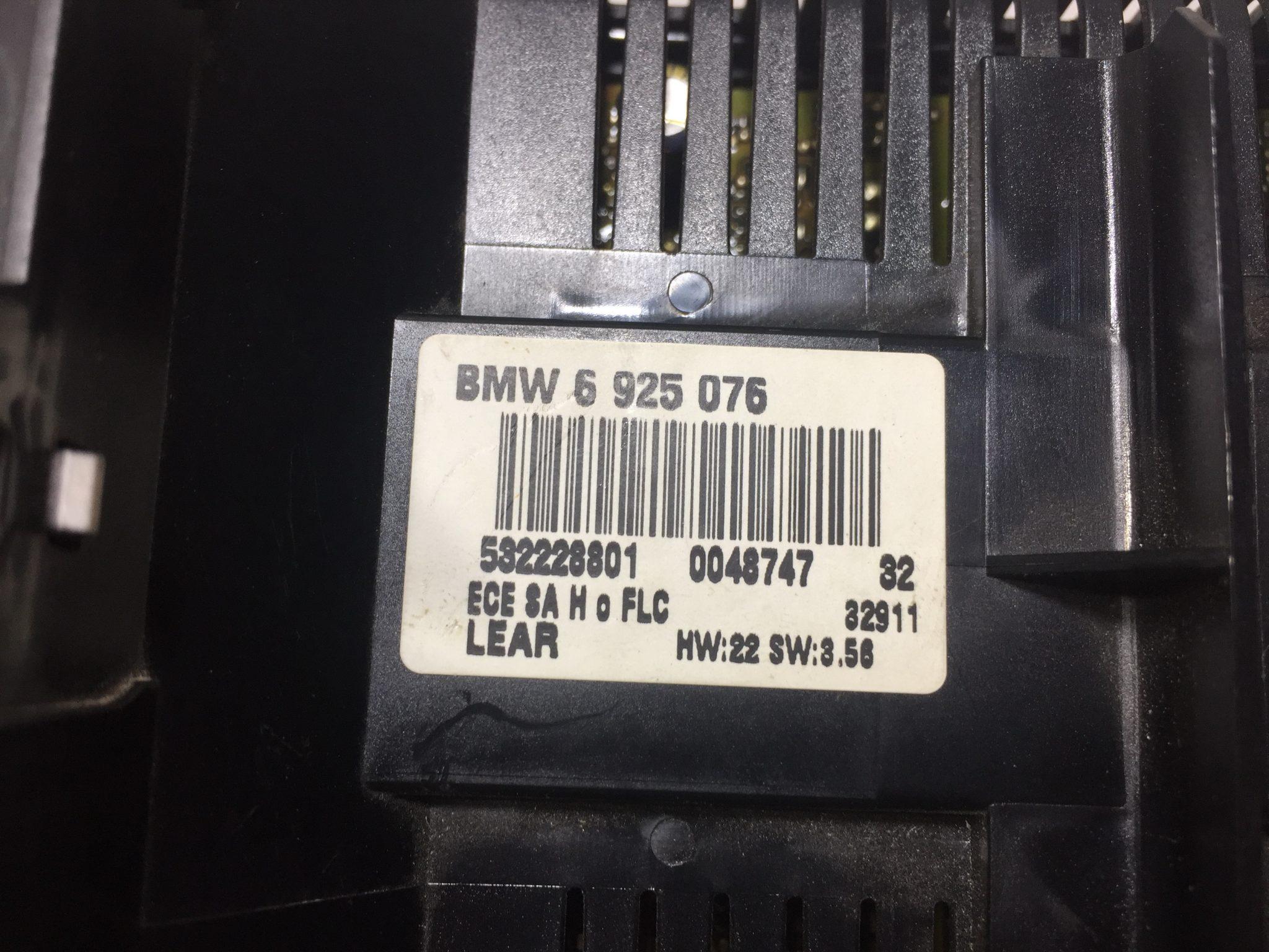 Ключ Светлини за BMW E46 6925076 LCM Модул