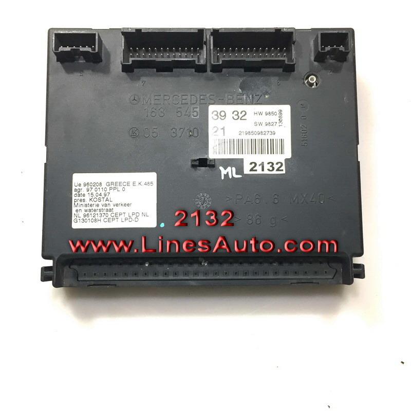Модул за Мерцедес 635453932 Mercedes ML320 W163