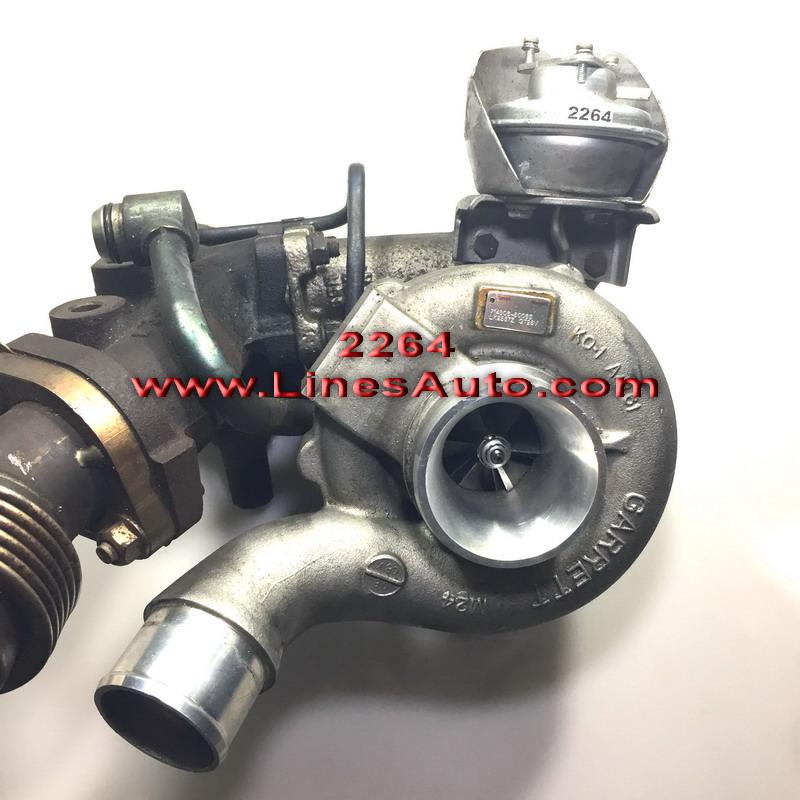 Renault Espace IV 3.0 dCi Turbocharger 714306-5006s lk9357z gt25v