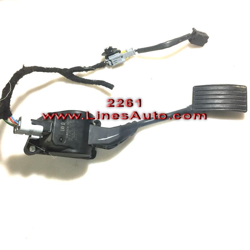 0280755173 9672091280 Потенциометър на Педала на Газта за Peugeot 407 pedal na gazta citroen c5 ситроен ц5 пежо 508