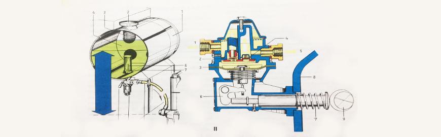 rezervoar za gorivo shema