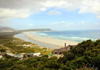 Driving along Chapman's Peak, Cape Town
