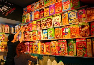 For the breakfast enthusiasts: Cereal Killer Cafe