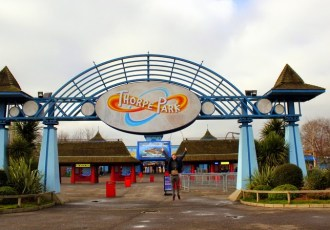 An adrenaline-fuelled date at Thorpe Park