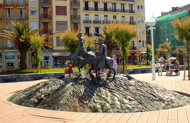 Don Quixote statue, San Sebastian