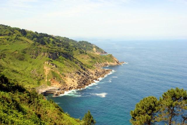 Coastal views from Monte Igueldo