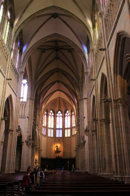 Inside Cathedral of San Sebastian