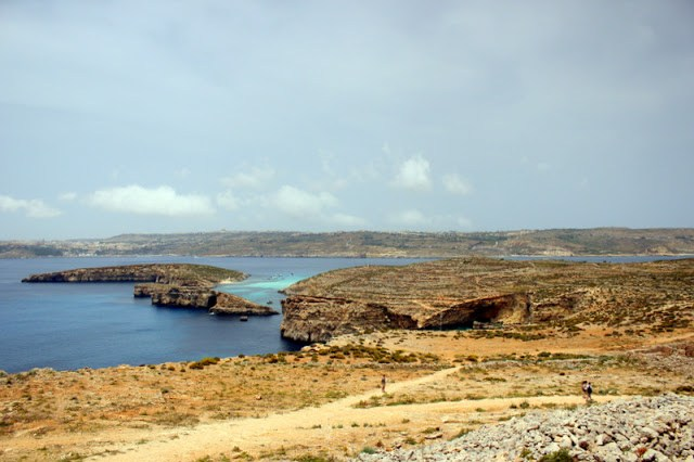 Dramatic landscapes over Comino