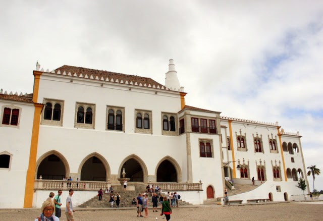 Courtyard, Sintra National Palace
