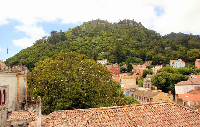 View from Sintra National Palace
