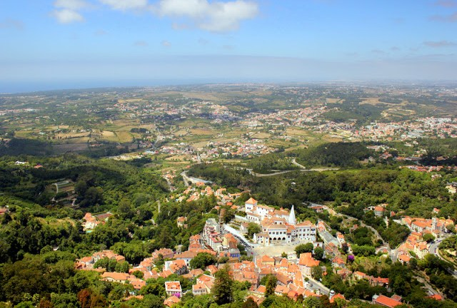Views from the Moorish Castle