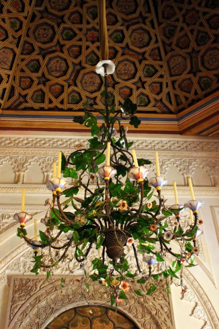 Chandelier at Pena National Palace