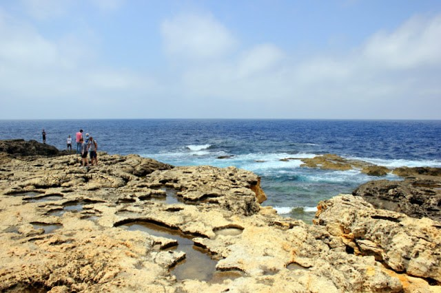 The surrounding sights of the Azure Window, Gozo