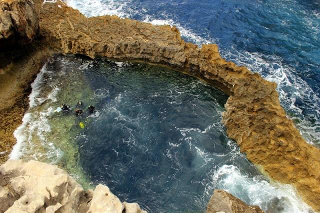 The Blue Hole, Gozo