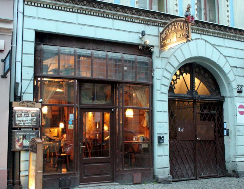 Stary Mlyn restaurant in Torun