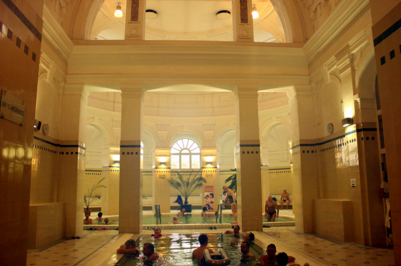 Indoor pools at Szechenyi