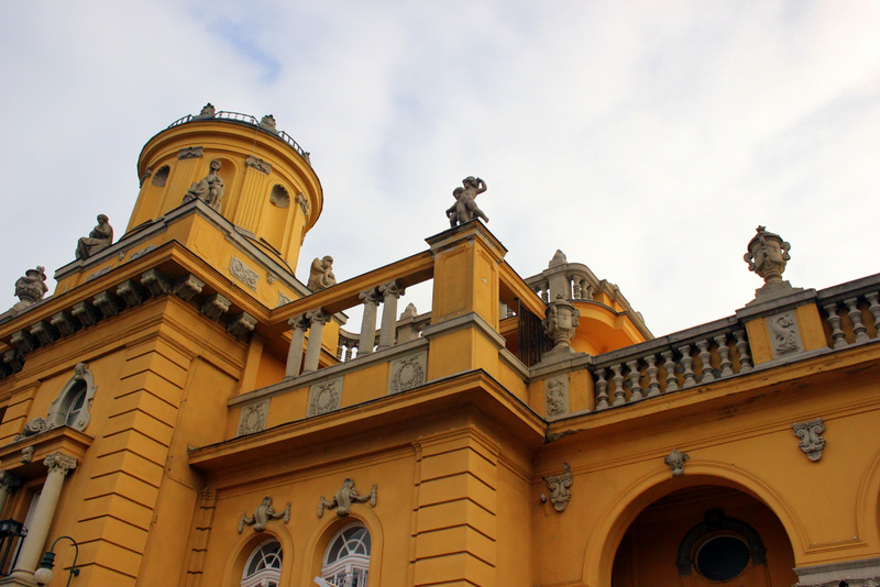 Roof detail, Szechenyi Baths