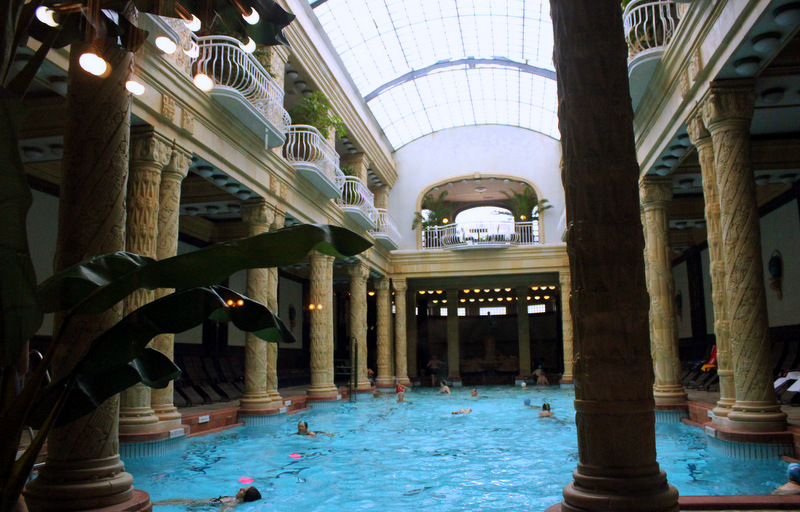 Indoor swimming pool, Gellert Baths