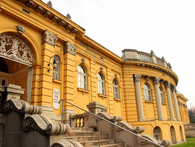 Architecture, Szechenyi Baths