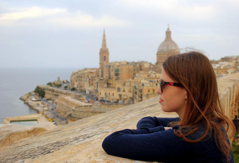 View over Valletta, Malta