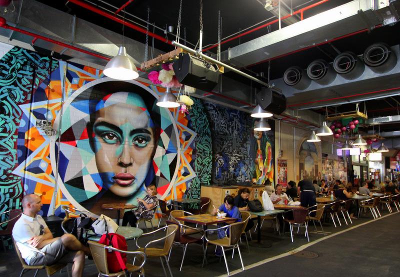 Street art, Adelaide Central Market
