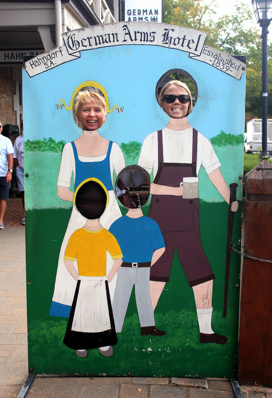 German cutouts, Hahndorf