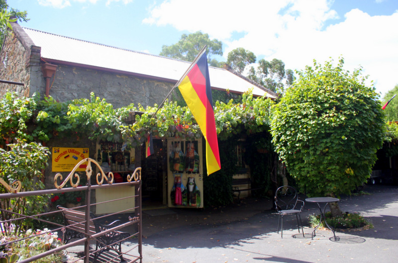 German shop in Hahndorf