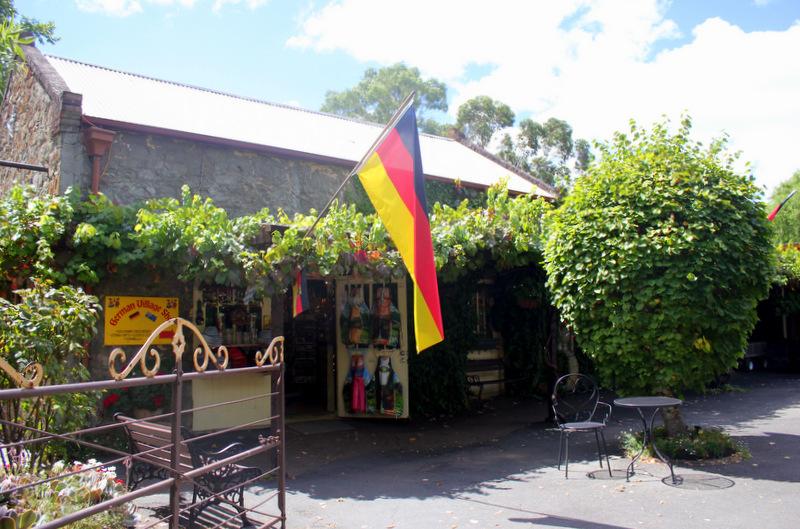 German shop in Hahndorf
