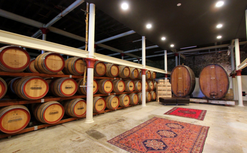Wine cellar, Chateau Tanunda