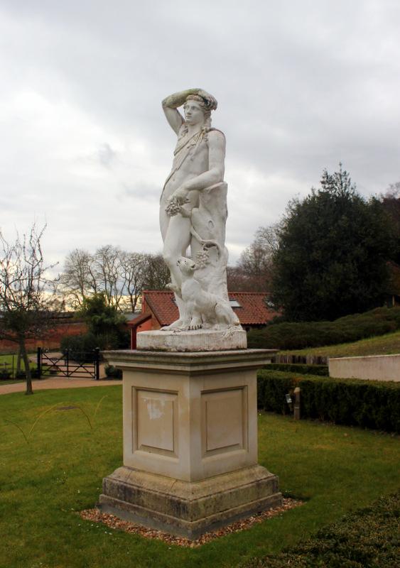 Statue of Bacchus, Painshill Park