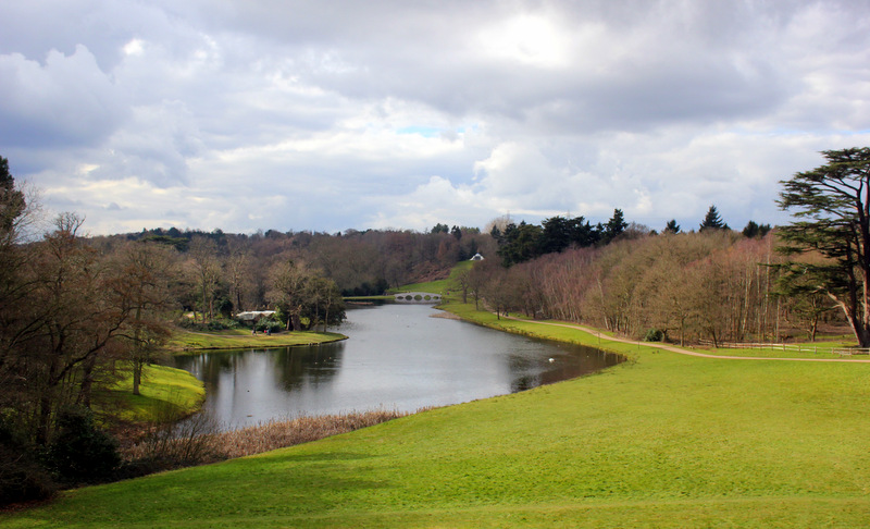 View from Gothic Temple, Painshill Park