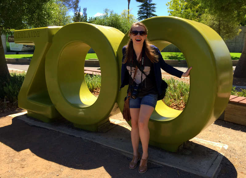 Visiting Adelaide Zoo