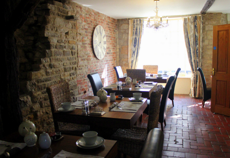 Breakfast room at Cathedral View