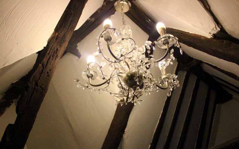 Chandelier, B&B in Lincoln