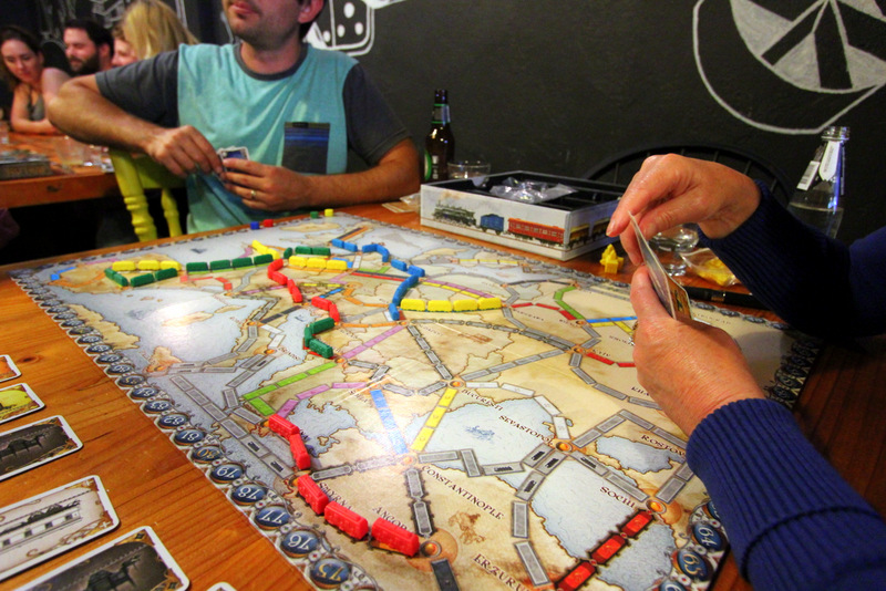 Ticket to Ride, boardgame cafe