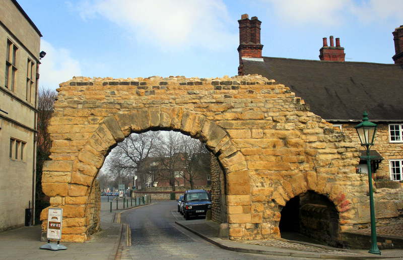 Lincoln's Roman archway