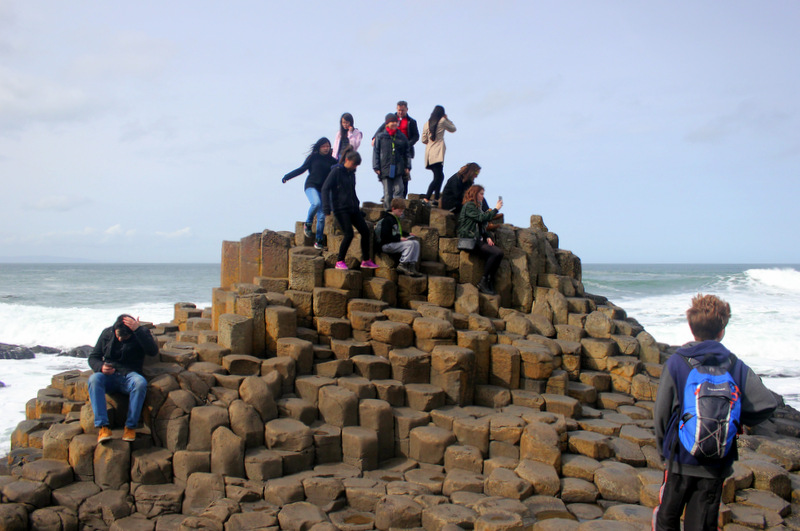 Photos at the Giant's Causeway
