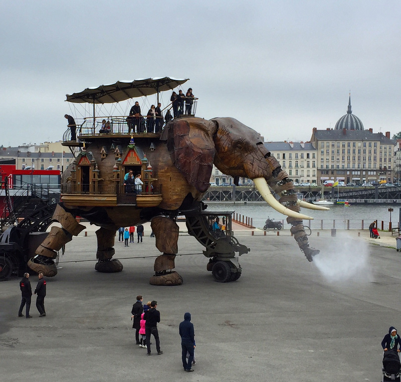 Elephant at Les Machines de l'Ile