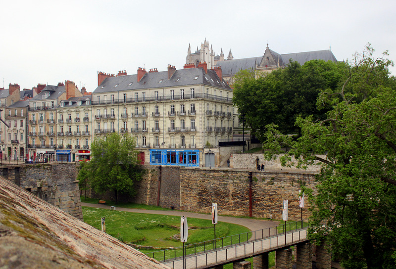 View of Nantes Cathedral