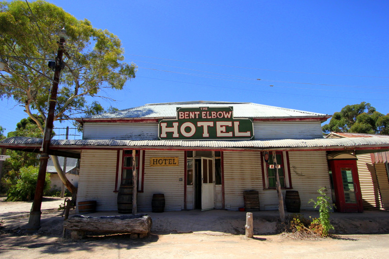 Bent Elbow hotel at Old Tailem Town