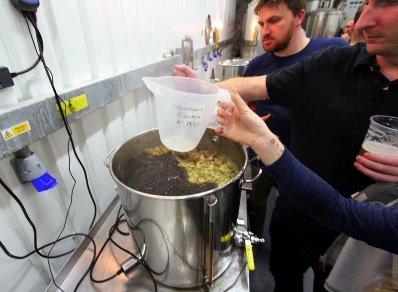 Ubrew brewing process