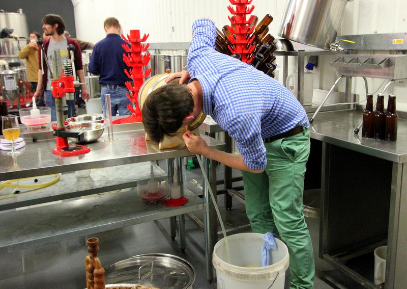 UBREW making beer